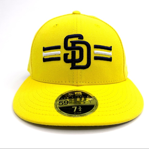 New Era Other - San Diego Padres Hat 🧢 Yellow Fitted 7 3/4